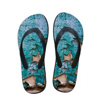 Free Shipping Men S Summer Slippers Cool Summer Beach Flip Flops Patch Men Wear Rubber Flip