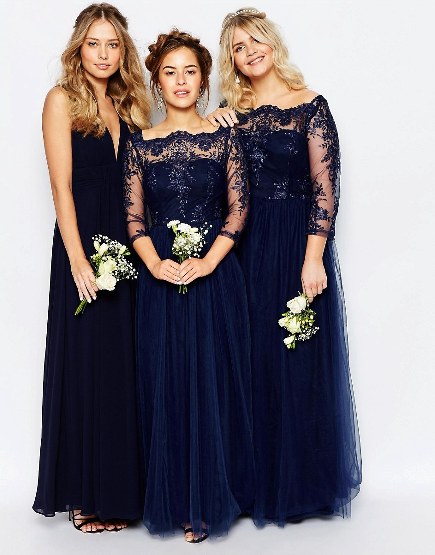 Getting bridesmaid dresses made image collections braidsmaid online get cheap made of honor dresses with sleeves aliexpress navy blue bridesmaid dress 2017 34 ombrellifo Images