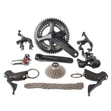 Shimano ULTEGRA R8000 2×11 22 s Скорость 50/34 53/39 52×36 т 170 мм 172,5 мм Дорожный велосипед указано переключатель комплект