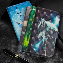Butterfly Painting Flip cell Phone Case For Doogee X5 Max Stand Wallet PU Leather + Soft TPU Cover Pro Coque