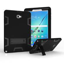 Conelz for Samsung Galaxy Tab A 10.1 2016 T580 T585 Protective Back Case Hybrid Shockproof Armor Stand Case Cover with Kickstand цена