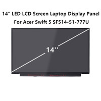 FTDLCD 14 LED LCD Screen Laptop Display Edgeless Panel For Acer Swift 5 SF514 51 777U 1080P 30PIN