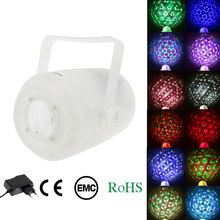 Tomshine Rgbwa Warna Mengubah LED Lampu Panggung Efek Auto Run Suara Aktivasi Remote Control 5LED 20W Gobo Lampu disco Light(China)