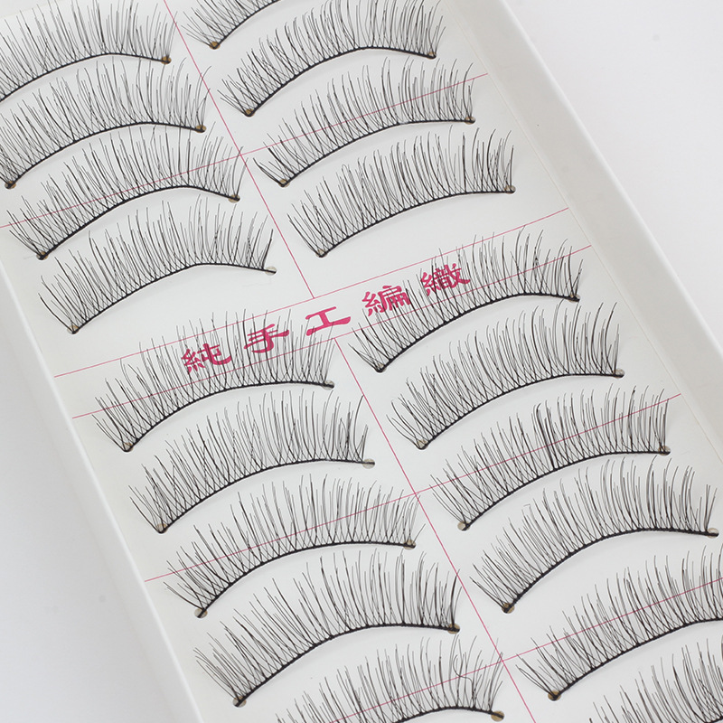 Mechanism of Cotton False Eyelashes Thick Eyelashes Extensions Fake Lashes Voluminous Fake Eyelashes For Eye Lashes Makeup