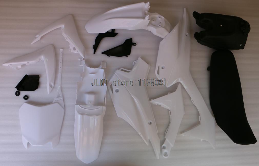 Bodywork Plastic Fairing Body Kit for Honda CRF 110 CRF110 CRF110F 2013 2014 2015 13 14 15 unpainted white injection molding bodywork fairing for honda vfr 1200 2012 [ck1051]