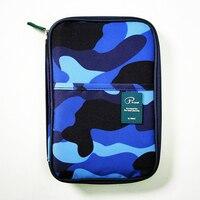 Nylon Passport Wallets Women Camouflage Credit ID Card Holder Woman Cash Wallet Purse Ladies Card Holder