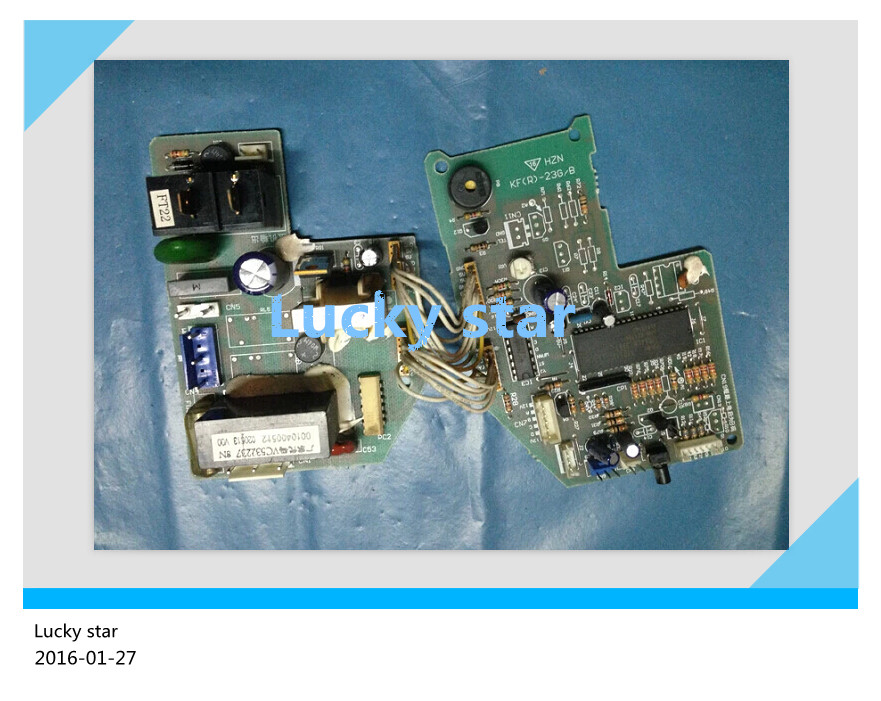 95% new for Haier Air conditioning computer board circuit board KF- 23 25GW/B 0010400512 good working xilinx fpga development board xilinx spartan 3e xc3s250e evaluation board kit lcd1602 lcd12864 12 modules open3s250e package b