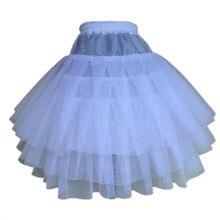 Кринолины/underskir юбка/ребенок цветочница a-line нижняя складе слоя три чистая лучшие качества