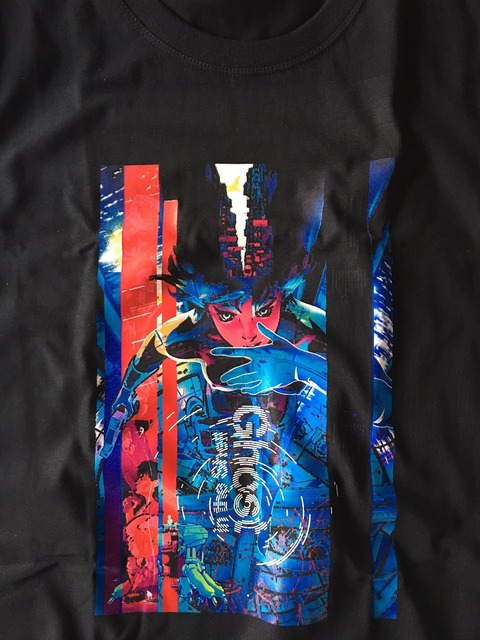 Ghost In The Shell Print Men T-Shirt
