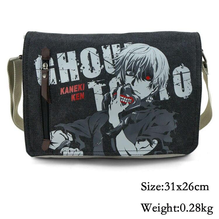 Anime Tokyo Ghoul Cosplay Messenger Bag School Bag Various Cartoon Messenger Bag Christmas Gift
