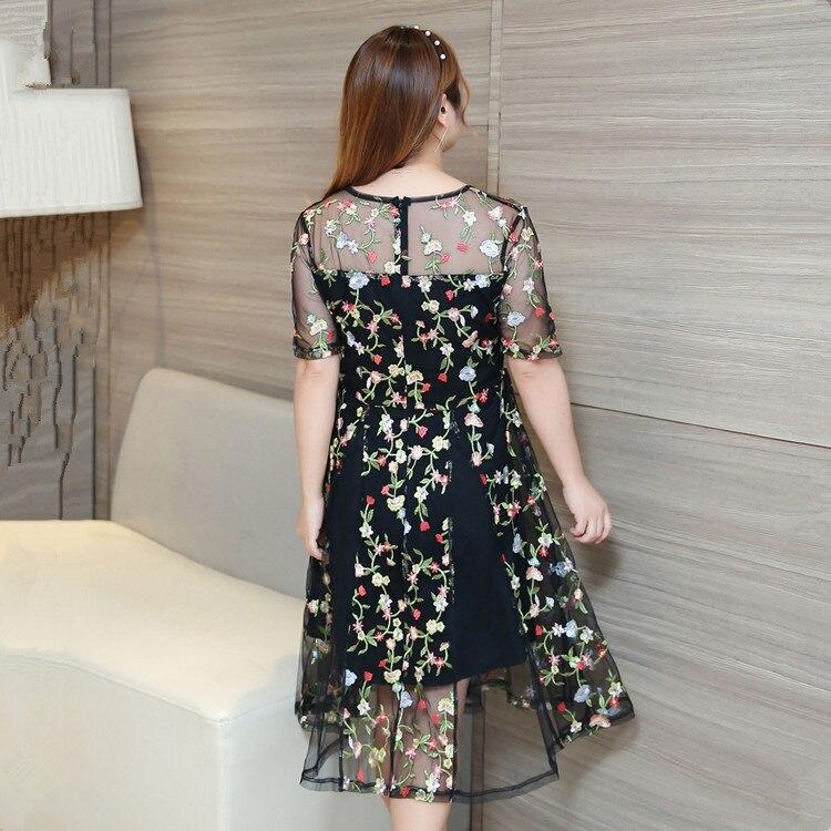 """""""230 £"""" moterų plius dydžio siuvinėjimo vakarėlių suknelės - Moteriški drabužiai - Nuotrauka 4"""
