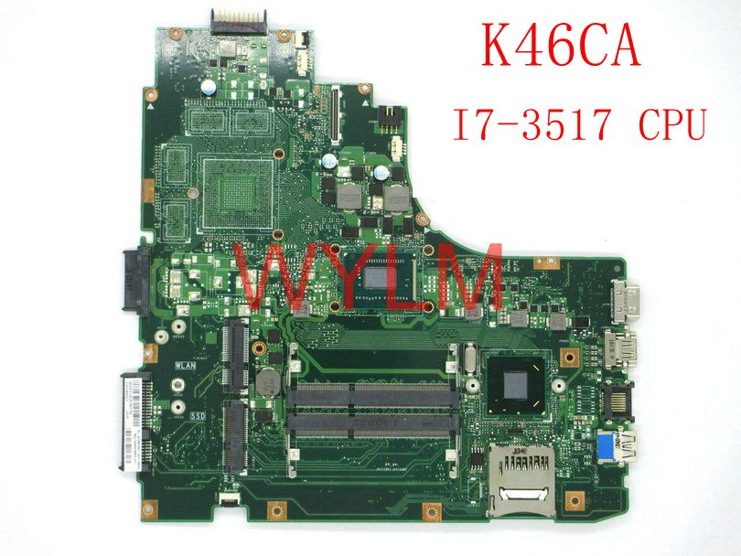 все цены на K46CA With I7-3517 CPU mainboard For ASUS A46C A46CA K46CA K46CM K46CB Laptop motherboard 100% Tested free shipping