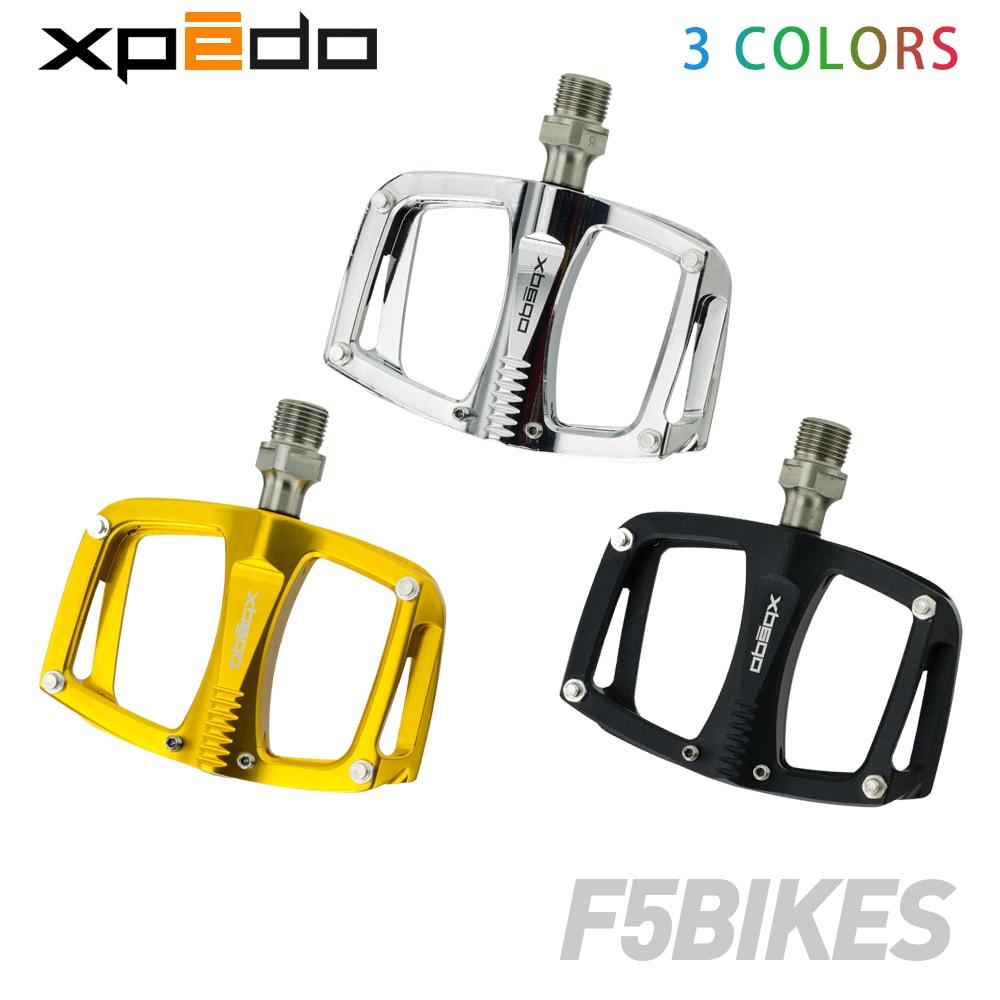 Wellgo xpedo C260 vtt roulement de route scellé en aluminium plate-forme pédales 195 g/paire broche en titane