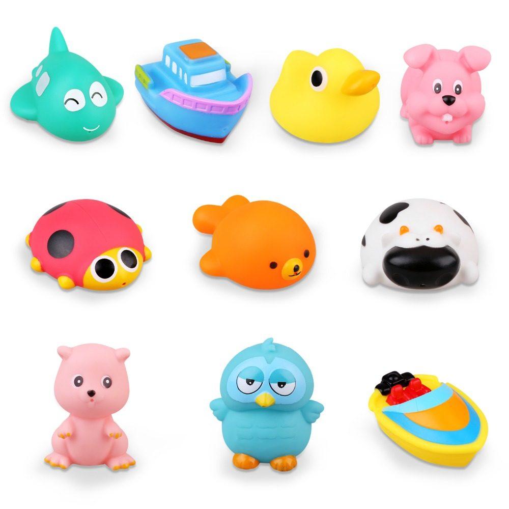 Online Shop 1 Pc Plastik Mainan Lucu Permainan Jarum Pinart 3d Clone Bebek Karet Anak 20 Gaya Bayi Mandi Lembut Hewan Mobil Perahu Air