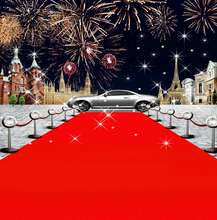 Fireworks  Car Theme Vip Red Carpet Hollywood celebrity backdrop Vinyl cloth High quality Computer print party Background