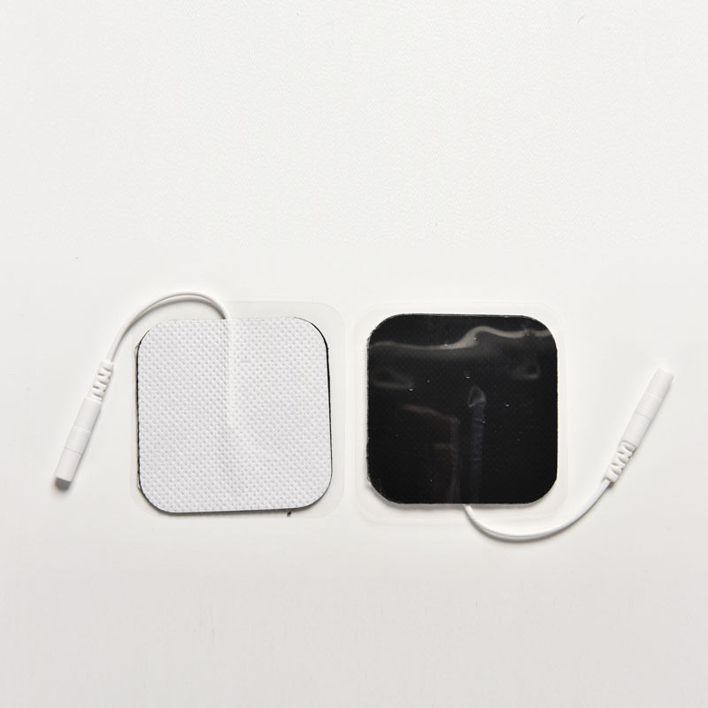 New Wholesale TENS Massager Electrode Pads 500Pairs/Pack Nonwoven Silcone Adhesive Patches With Pin Wire Therapy Stimulator Pads hot sale free shipping 50pairs pack nonwoven replacement silcone adhesive tens massager patches physiotherapy electrode pads