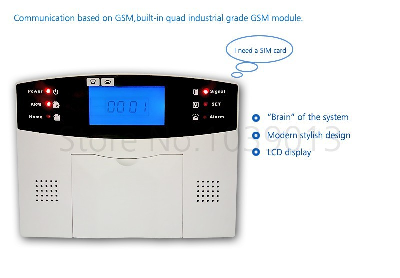 alarm system kit G500-6