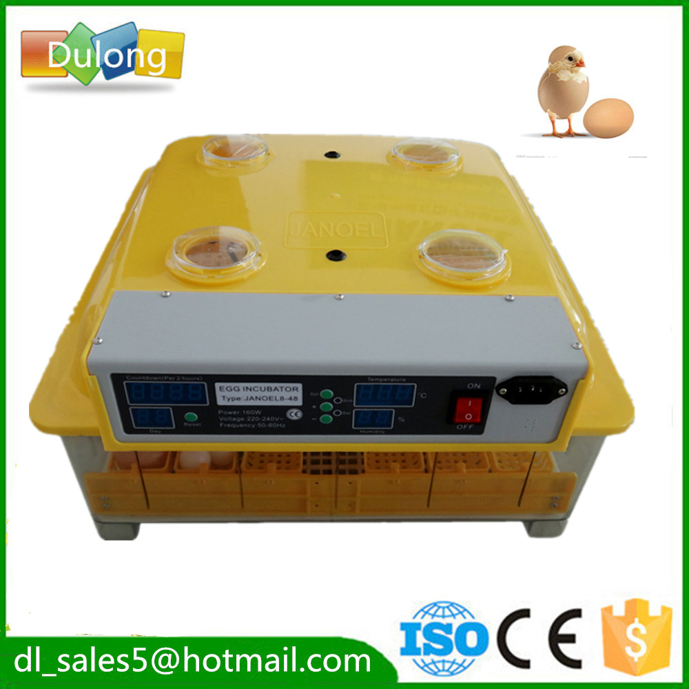 Incubator  48 Eggs  Brooder Mini Hatchery Egg Incubator Hatcher for Chicken Duck Bird Pigeon high quality best selling mini industrial egg incubator of 48 eggs for sale commercial hatcher incubadora de huevos automatica