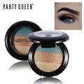 Party Queen Diamond Dust Shimmer Mineralize Trio Eyeshadow Palette Glitter Pigment Makeup Smokey Sparkly Smooth Baked Eye Shadow