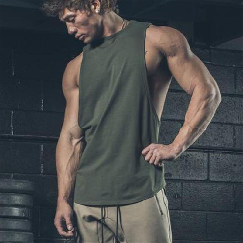Brand clothing fitness wear men silod   tank     top   men bodybuilding stringers mens singlet gyms tanktop workout clothes for men