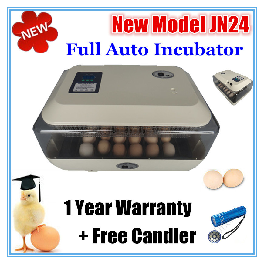 2015 top selling incubator 24 chicken eggs incubator LED display turner for sale led top sale 100