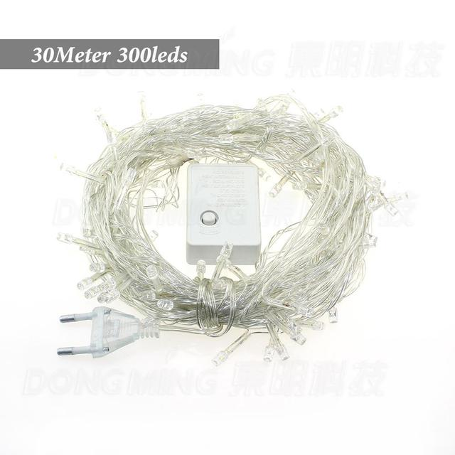 factory price 30m 300 led string lights wedding decoration lights led christmas light 110v220v