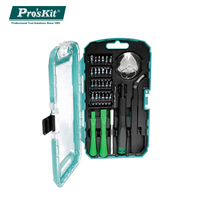 Pro'skit SD 9322M Precision Screwdriver Set 32 in 1 repair tool for iphone smart Mobile phone iPad Camera maintenance