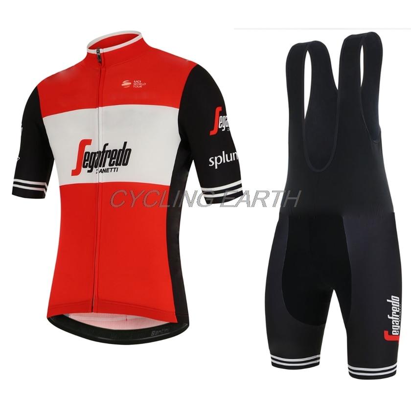 2019 Style Summer Men Cycling Jersey Short Sleeve Set Maillot bib shorts  Bicycle Clothes Breathable Shirt 8ebe679c3