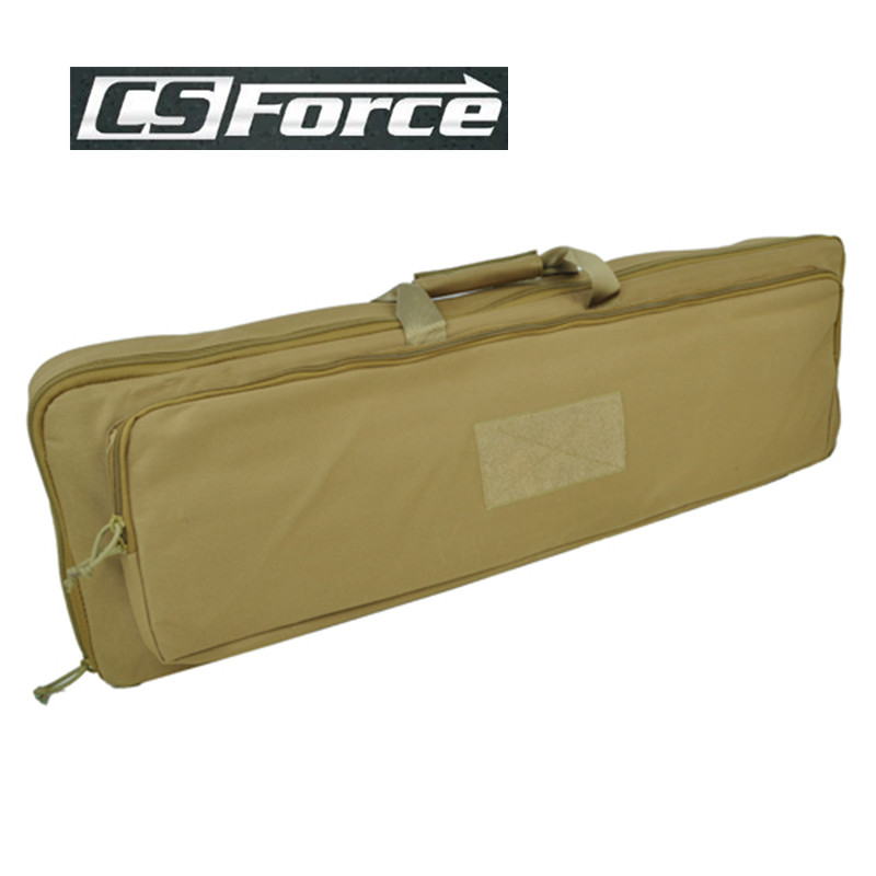 CS Force Military 85cm Dual Rifle Carrying Case Sport 900D Waterfroof Nylon Gun Rifle Bag Pouch For Hunting Paintball Black/OD
