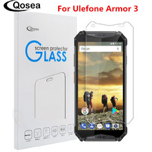 Qosea For Ulefone Armor 3 Screen Protector 9H Ultra-thin Explosion-proof Film Power 2 S8 S10 Pro Tempered Glass
