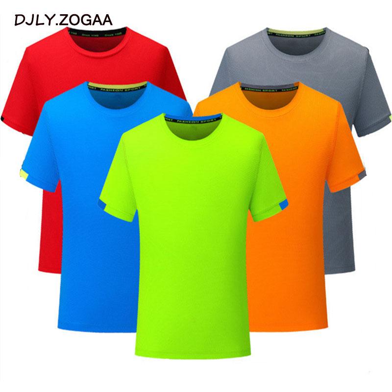 Zogaa Quick-drying Marathon T-shirt Checkered Breathable Mesh Sweatshirt