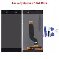 100% Tested LCD Display for Sony Nokia C7 XA1 Ultra LCD Touch Screen Digitizer with Touch Screen Assembly Replacement Parts