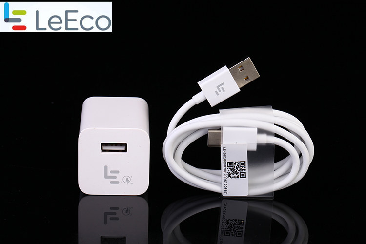 Letv leeco le s3 x626 Fast Charger &Letv leeco le Pro 3 /max 2 /X522/le2 phone QC 3.0 quick charge usb wall adapter&Type C cable