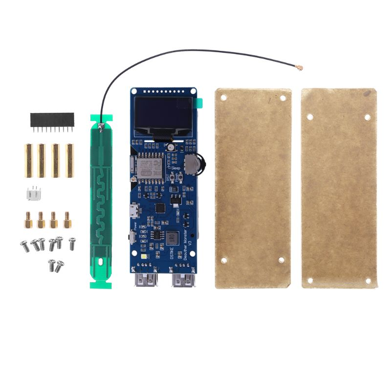 ESP8266 Development Board WiFi Deauther Monster Attack Test Interference 1 3 OLED Quick Charging 2 USB