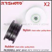 Roller-Tensioner Chain Pulley Bike Dirt-Pit Go-Kart Motorcycle 428 Nylon 8mm for ATV