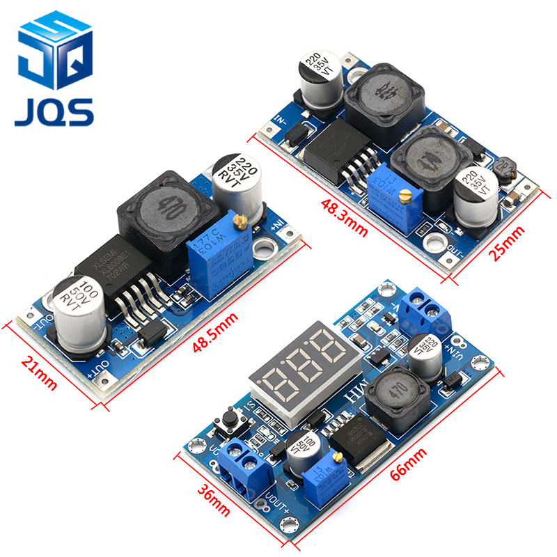 XL6009 Boost Converter Step Up Adjustable 15W 5-32V to 5-50V DC-DC Power Supply Module High Performance Low RippleXL6009 Boost Converter Step Up Adjustable 15W 5-32V to 5-50V DC-DC Power Supply Module High Performance Low Ripple