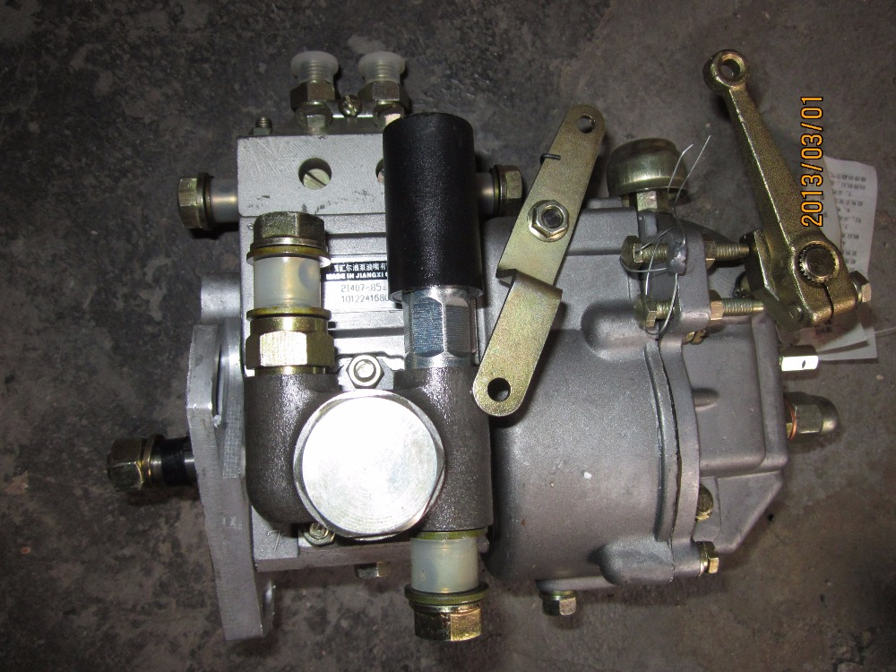 fuel injection pump of Jiangdong TY295IT, TY2100IT for tractor like Jinma etc, the pump brand is WEIFU jiangdong ty395e jd495 engine for tractor like jinma the water pump for by pass hoses and extra vent for warm