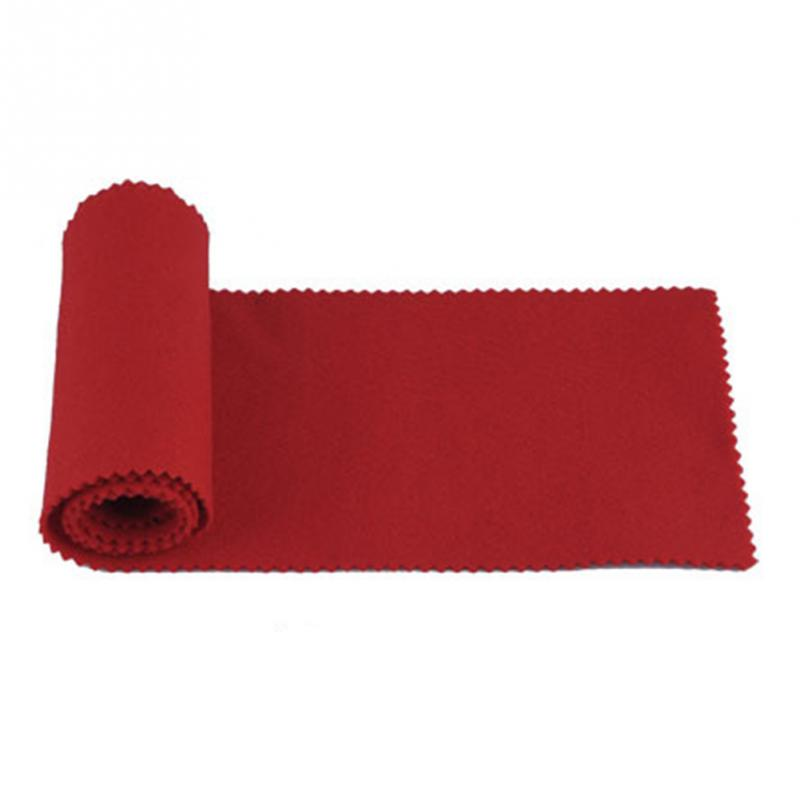 Red Soft Nylon+Cotton Piano Keyboard Dust Cover For Any 88 Key Piano Or Keyboard