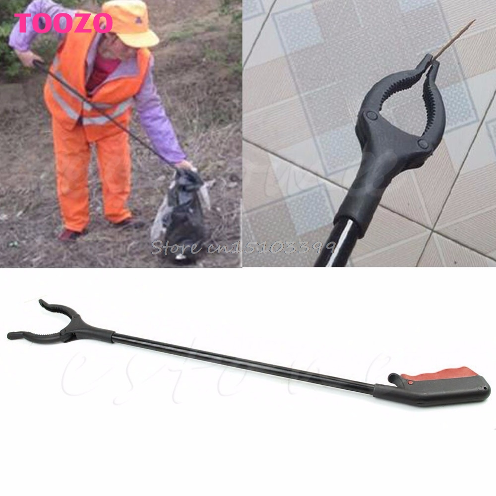 1PC Trash Mobility Pick Up Grabber Long Reach Helping Hand Arm Extension Tools G08 Drop ship