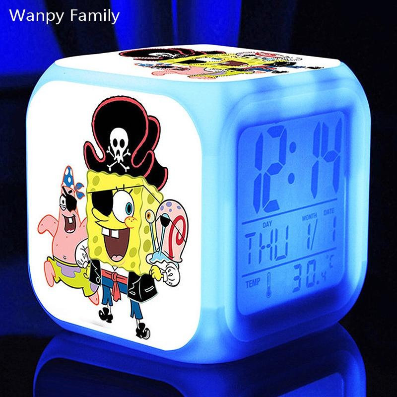 wecker kinderzimmer, nette spongebob digitale wecker, animierte komödie spongebob wecker, Design ideen