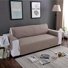 Wodoodporna narzuta na sofę wymienny Pet Dog Kid Mat fotel pokrowiec na meble zmywalny podłokietnik poszewki na kanapę pokrowce 1/2/3 Seat