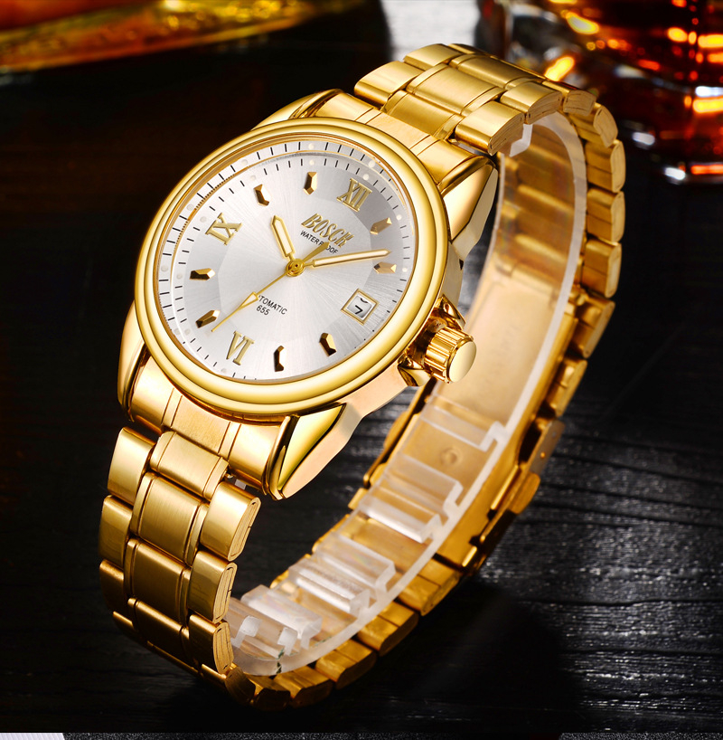 Bosck Reloj de los hombres deportes Acero inoxidable Hardlex nuevo con etiquetas Reloj moda Casual Reloj Hombre Reloj de cuarzo Masculino 2017