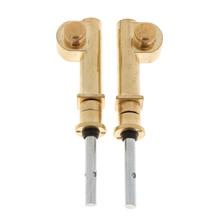 2 Pieces Copper Vortex Erhu Axis Shaft Mechanical Accessory