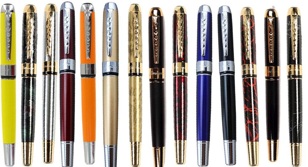 Ensemble de 536 pièces Fontaine stylos + 700 Exrta Calligraphie Incurvé Plume JINHAO 250 stylos à encre Livraison Gratuite