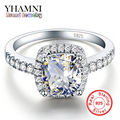 Promotion!!! GALAXY 925 Sterling Silver Luxury 4 Carat CZ Diamond Crystal Wedding Ring For Women RING SIZE US 5 6 7 8 9 10 YH041