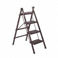 Mobilya'ten Basamaklı Tabureler ve Merdivenler'de Katlanır basamaklı merdiven tabure üç adım kalınlaşmış demir boru kapalı merdiven üç portatif merdiven mutfak merdiveni