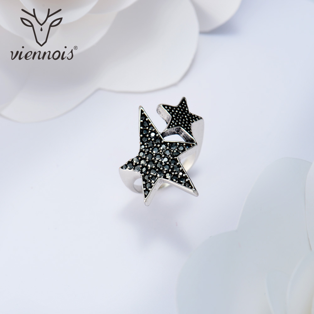 image tail product pentagon see double rings contracted larger star gold hot ring for sale