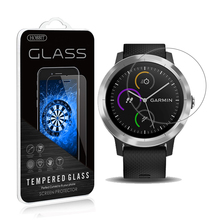 For Garmin Vivoactive 3 0.3mm 2.5D Clear Screen Protector Tempered Glass Screen Protector Smartwatch Anti Scratch film 10pcs for garmin vivoactive 3 tempered glass protective film smart watch screen protector screen protector for vivoactive 3
