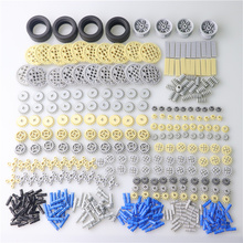 600pcs/set MOC Technic Parts ABS Plastic Building Blocks Bulk Compatible Bricks Set Euducational Children Toys