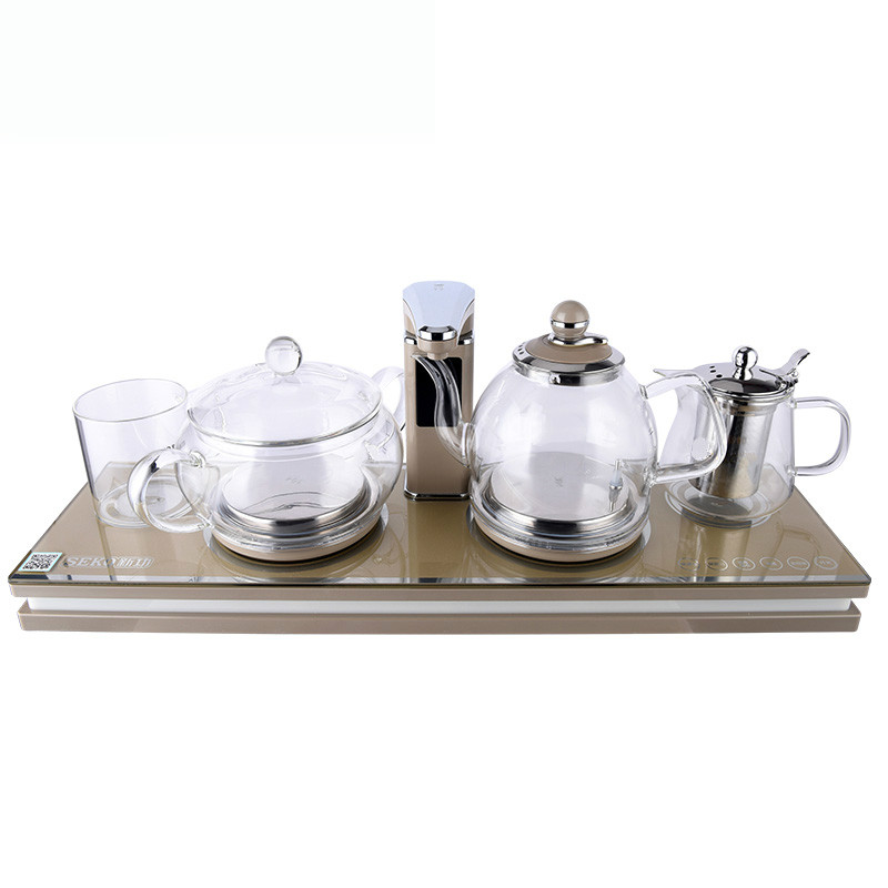 Intelligent automatic upper water electric kettle tea set with hot bottle цена